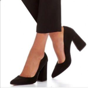 Vince Camuto Shoes - Vince Camuto Nubuck Leather Suede Pumps